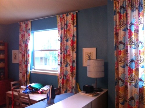 Last shot ... feeling pretty good you've got the picture of how my curtains look!