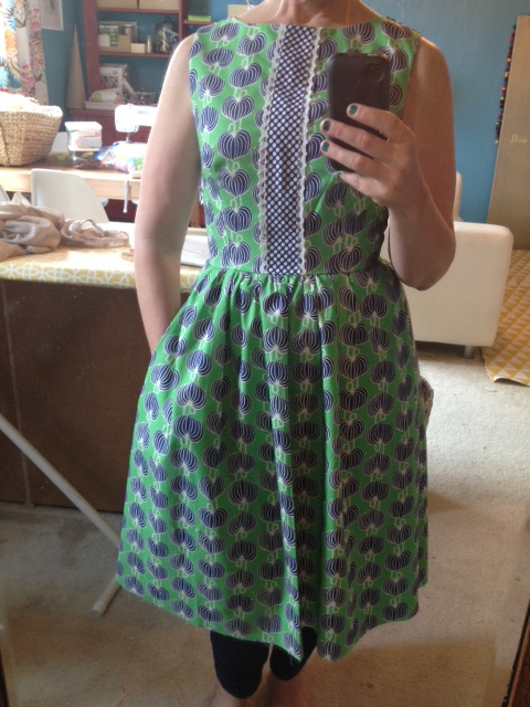 Finished garment looks a little something like this… LOVE!