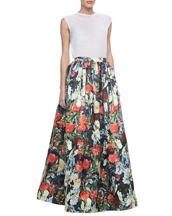 Like this Alice + Olivia skirt from Neiman Marcus .. which sells for $698! Oh that's reasonable for my grocery shopping excursions!